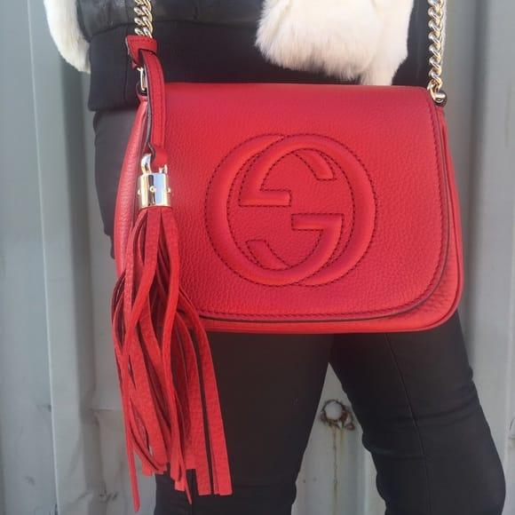 Gucci Soho Chain Bags