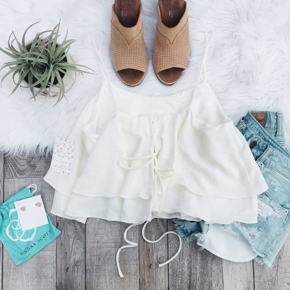 Lace Crop Tops
