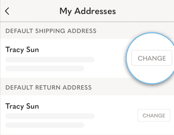How Do I Edit My Shipping and Return Address?
