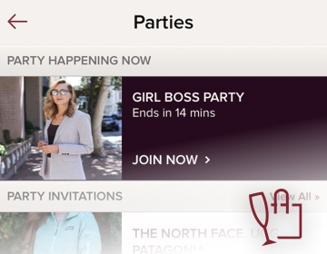 How Do I Share a Listing to a Party?